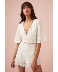 Finders Keepers - Sundays Playsuit - Lyst