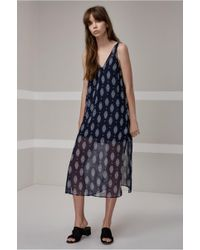The Fifth Label - Lights Shine On Midi Dress - Lyst