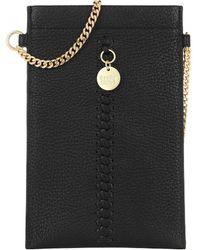 See By Chloé Tilda Phone Strap Bag Black - Schwarz