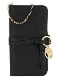 Chloé Smart Phone Holder - Black