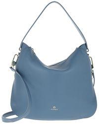 Aigner Hobo Bag Milano Dusk Blue - Bleu
