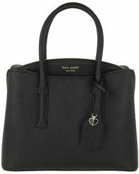 Kate Spade Margaux Medium Satchel Bag - Noir