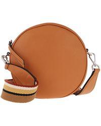 Gianni Chiarini Tamburello Handbag Leather Tajin - Marron