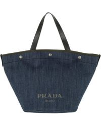 fc3568ca0f57 Prada Corsaire Crossbody Calf Leather + Nylon Mimetico/nero in Green ...