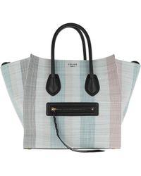 7d99073a86b Céline - Phantom Micro Luggage Bag Leather Blu - Lyst