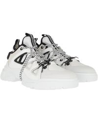 McQ Chunky Sole Trainers - White