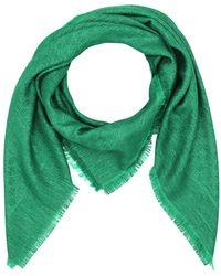 Gucci - Lurex GG Jacquard Shawl Green - Lyst