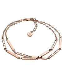 Emporio Armani Ladies Bracelet - Métallisé