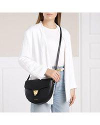 Coccinelle Beat Soft Flap Crossbody Bag - Zwart