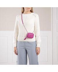 Saint Laurent Lou Baby Shoulder Bag Leather - Paars