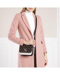 Guess Noelle Mini Flap Crossbody Bag - Bruin