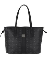 MCM - Liz Visetos Shopper Medium Black - Lyst