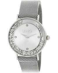Liu Jo Tlj1341 Dancing Slim Quartz Watch Silver - Metallic