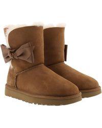 bbff64b555b UGG Daelynn Women's Snow Boots In Black in Black - Lyst