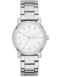 DKNY Soho Bracelet Watch Silver - Métallisé