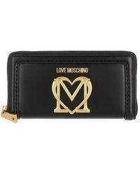 Love Moschino Portafogli Pu - Noir