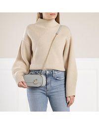 Chloé Shoulder Bag Leather - Blauw