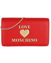 Love Moschino Borsa Pu - Rot