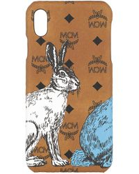 MCM Iphone Xs Max Case Cognac - Multicolour
