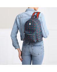 MCM Stark Backpack Deep Blu Sea - Bleu