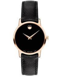 Movado Museum Classic Watch - Noir
