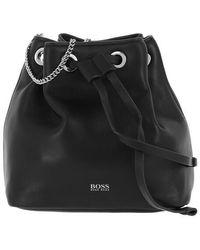 BOSS by Hugo Boss Kristini Mini Drawstring Bag Black - Noir