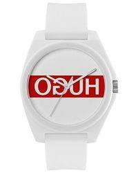 HUGO Quartz Watch Play - White