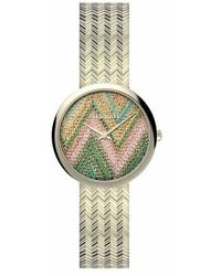 Missoni Watch M1 34 Mm (y2) - Metallic