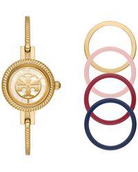 Tory Burch Fashion Watch Set Gold - Metallic
