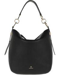 Aigner Serena M Hobo Bag Black - Noir