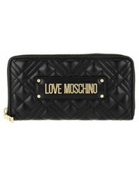 Love Moschino - Wallet Quilted Nappa - Lyst