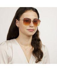 Saint Laurent Sl 312 M-001 58 Sunglasses Woman - Zwart