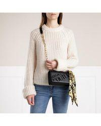 Versace Jeans Couture Small Logo Crossbody Bag - Zwart
