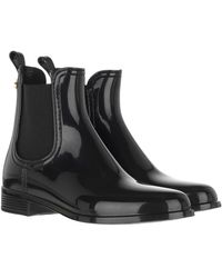 Lemon Jelly Comfy Chelsea Boot Black - Noir