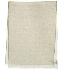 Closed Scarf Summer Linen - Neutre
