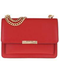 Michael Kors Très petit sac à bandoulière Jade en cuir - Rouge