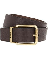 COACH Cutable Belt Leather - Brown