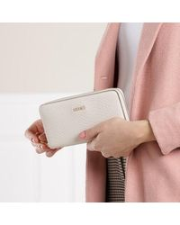 Liu Jo X-large Zip Around Wallet - Wit