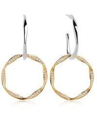 Sif Jakobs Jewellery Cetara Due Earrings - Métallisé