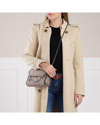 Stella McCartney Falabella Shaggy Deer Mini Shoulder Bag - Grijs