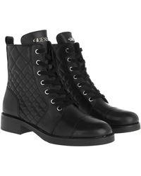 Guess Breah Bootie Leather Black