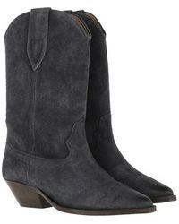 Isabel Marant Cowboy Boots - Schwarz