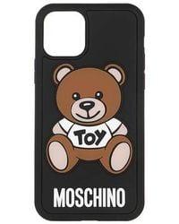 Moschino Toy Smartphone Case iPhone 11 Pro - Noir