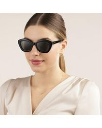 Saint Laurent Sl 68-001 54 Sunglasses Acetate - Zwart
