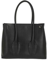 L'Autre Chose Tote Bags - Tote Bag Tresor - Black - Tote Bags For Ladies