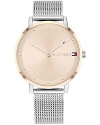 Tommy Hilfiger Women Quartz Watch 1782151 Silver - Métallisé