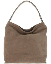 Coccinelle Keyla Tote Leather New Taupe - Natur