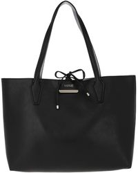 Guess - Bobbi Inside Out Tote Black/pewter - Lyst