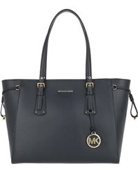 Michael Kors - Voyager Md Multifunctional Tz Tote Admiral - Lyst