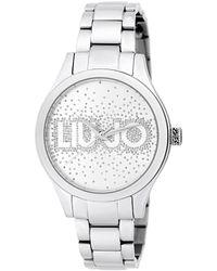 Liu Jo Tlj1613 Rainfall Quartz Watch Silver - Metallic